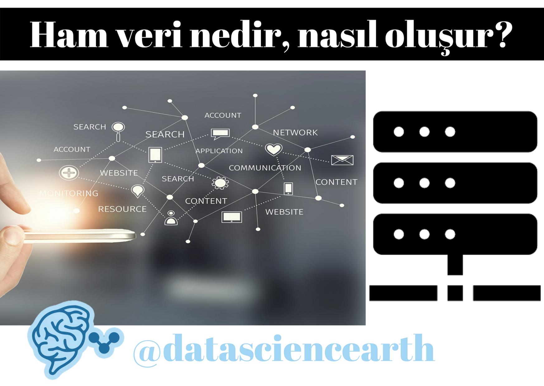 Küçük veri, büyük veri ve ham veri