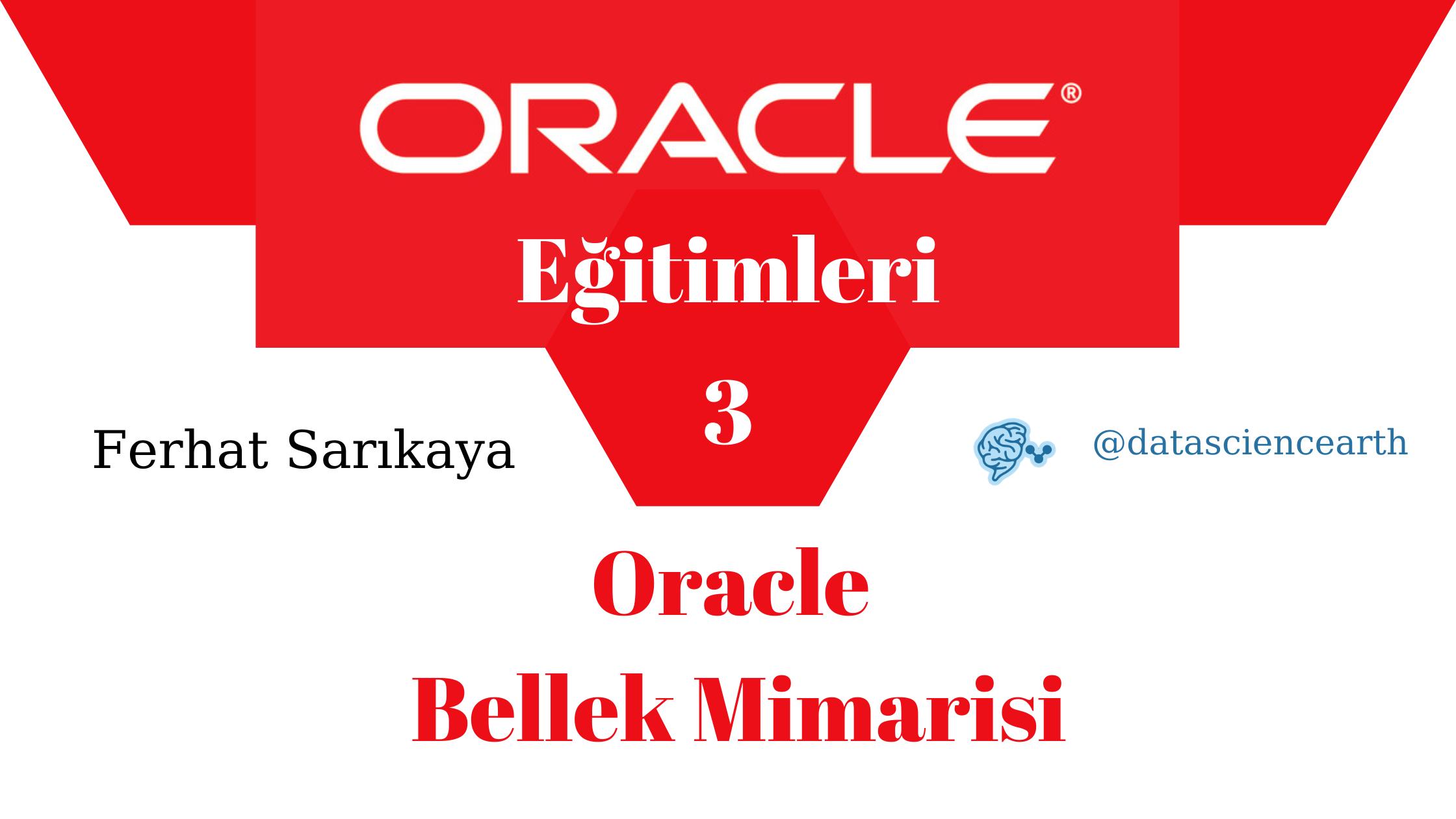 Oracle Eğitimleri - Oracle Bellek Mimarisi