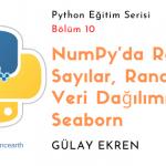 NumPy'da Random Sayılar, Random Veri Dağılımı ve Seaborn